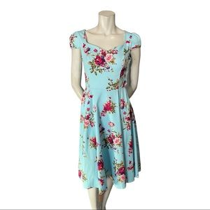 Hearts & Roses Jive/Swing Pinup Dress Size 6